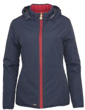 TOGGI BABETTE REVERSIBLE NAVY / RED WATERPROOF JACKET  - RRP £120